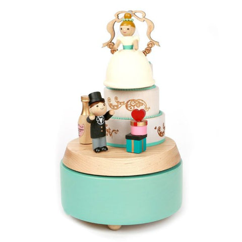 Wooderful Life Music Box Wedding Cake