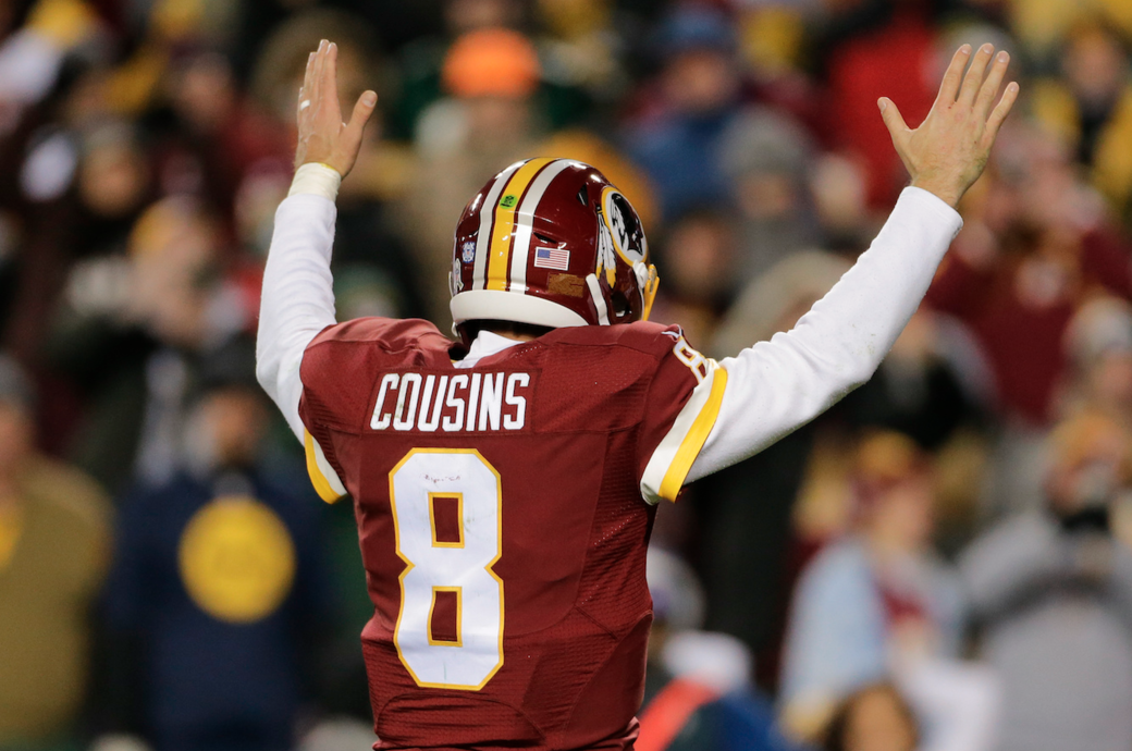 Kirk Cousins a calm presence as supporting cast changes