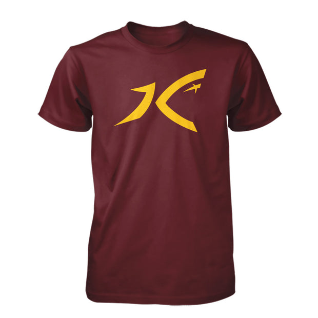 Classic Logo Tee-Red-Men's  | Kirk Cousins Apparel