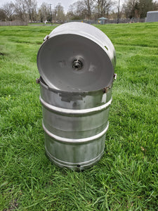 beer keg seafood crab boil pot
