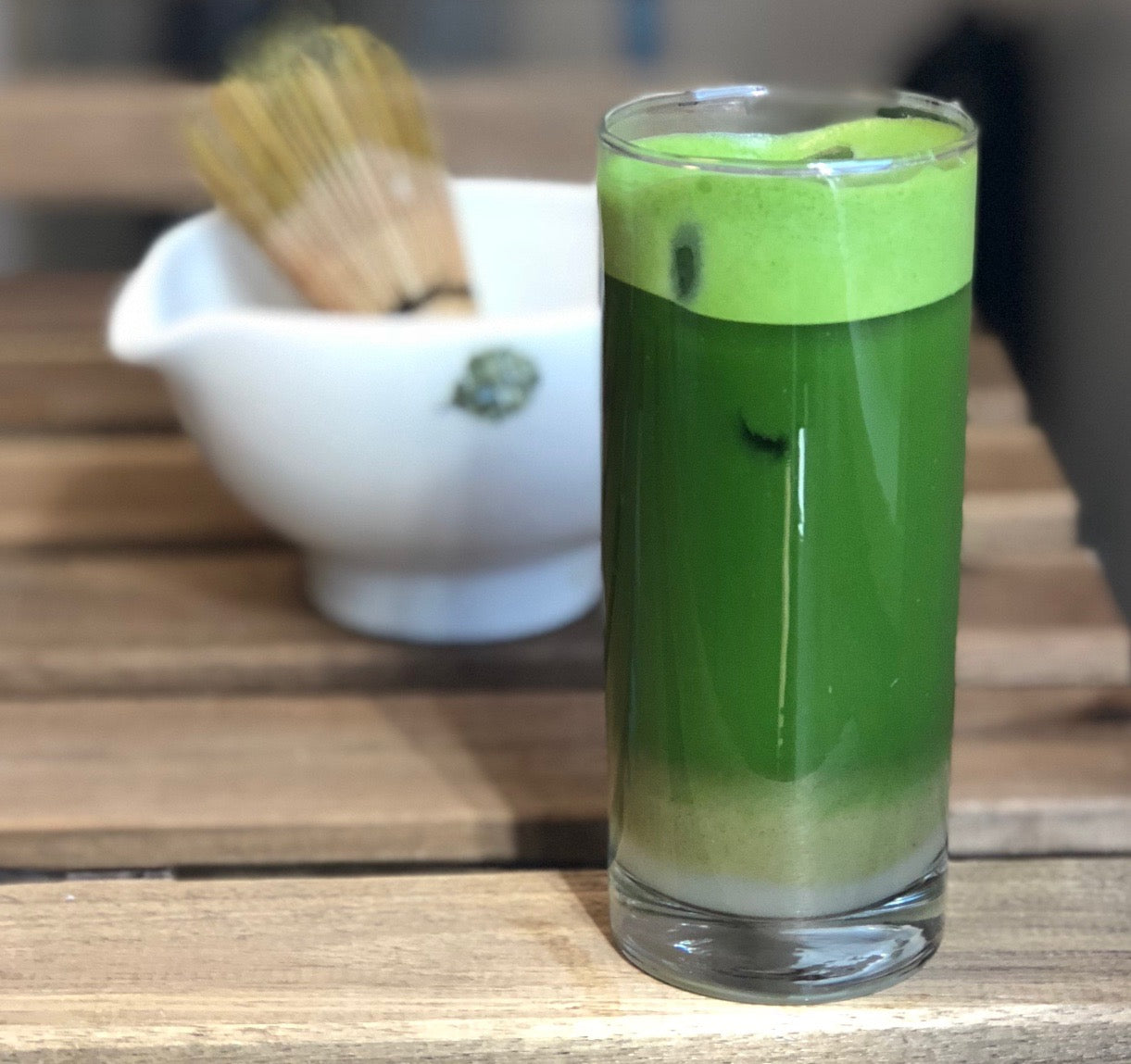 ICED GREEN MACHINE MATCHA INFUSION