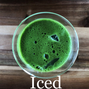 Kago Matcha is great Iced