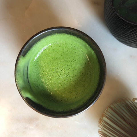 Coconut Butter Almond Milk Honey Matcha