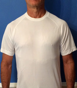 "Short Sleeve Dry-Fit Shirt ""On Your Left"""