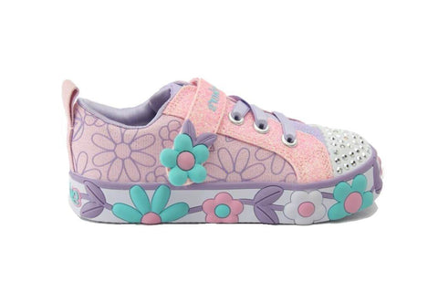 SKECHERS 10965N - PINK MULTI KIDS SHOES