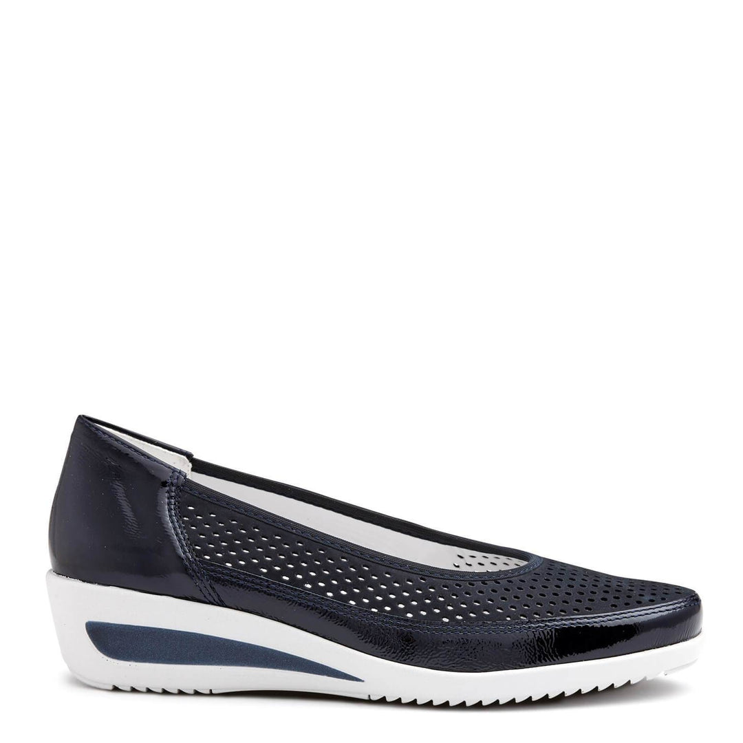 30652 Womens Loafers in Blau from Ara