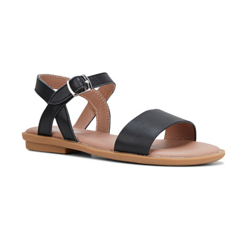 Harper II Kids Sandals in Black by Clarks