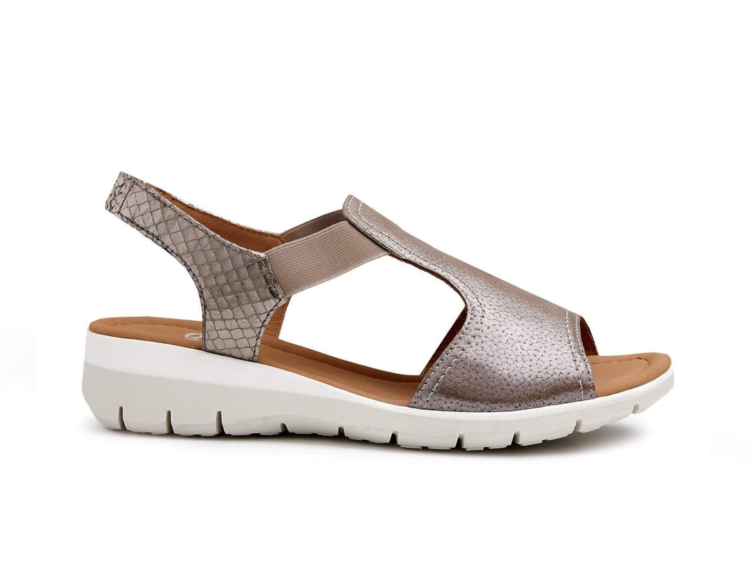 36017 Womens Shoes in Taupe by Ara
