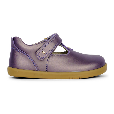 Bobux Louise Grape and Gold from iWalk Bobux Collection