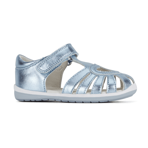 Maya D Sandal in Metallic Blue from Clarks