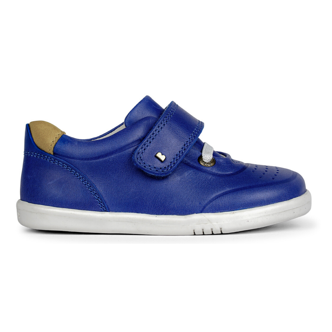 Ryder Trainers in Blueberry from Bobux iWalk Collection
