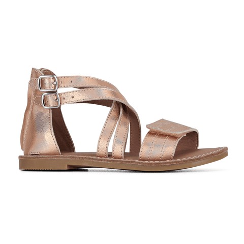 Ivy Sandals in Rose Gold from Clarks