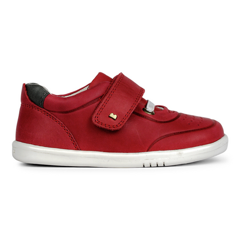 Ryder Trainers in Red and Charcoal from Bobux iWalk Collection