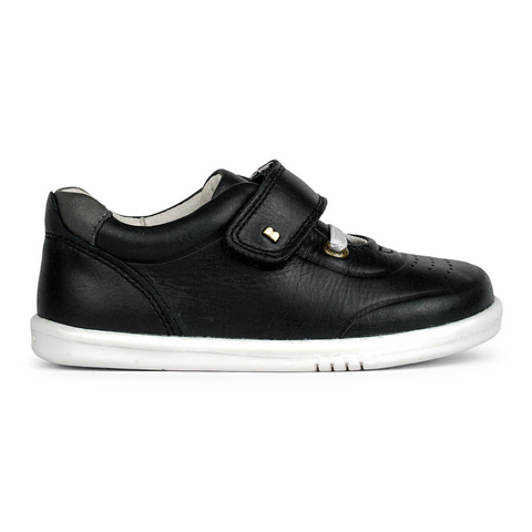Ryder Trainers in Black Charcoal from Bobux iWalk Collection