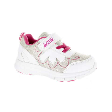 Sparkle Sneakers in White by Activ