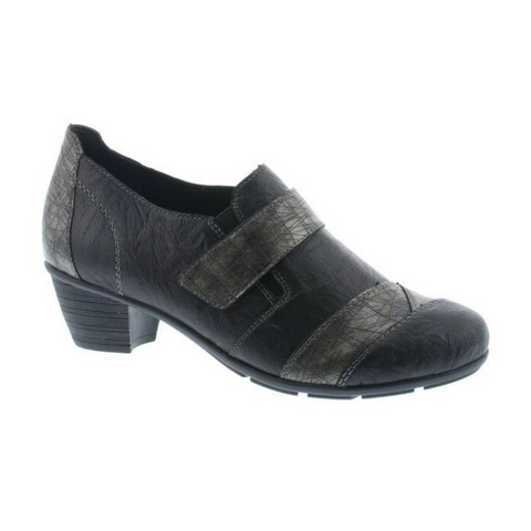 R7501 Shoes in Black Combo from Remonte by Rieker