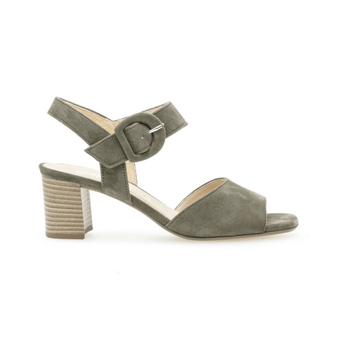 21752 Heels in Olive by Gabor