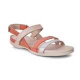 Flash Sandal in Silver Apricot by Ecco