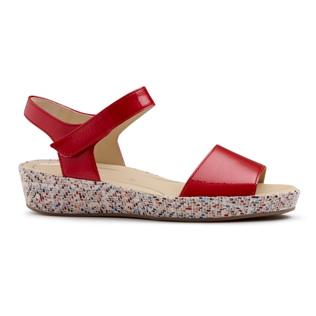 28001 Sandals in Rot Multi from Ara.