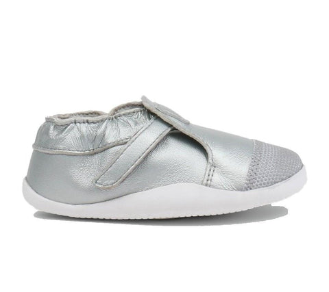 BOBUX XPLORER ORIGIN STEP UP - SILVER/WHITE KIDS SHOES