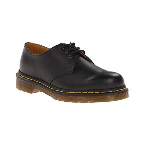 1461 3-Eye Shoes in Black Nappa by Dr Martens