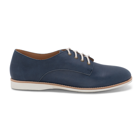Derby Unlined Shoes in Navy by Rollie Nation