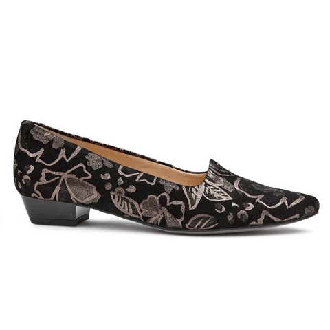 Paris Shoes in Steel Floral from Ara.