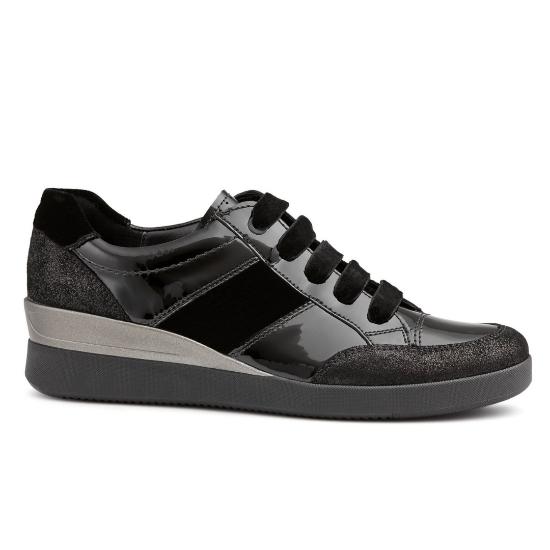 Lazio Womens Shoes in Black from Ara.