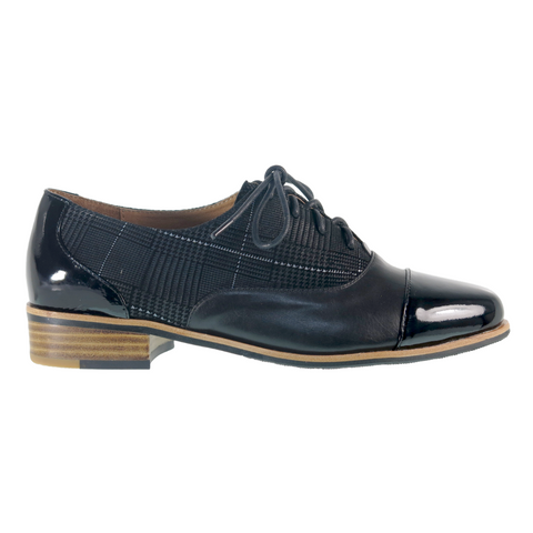 Deploy Oxfords in Black Check from Bresley