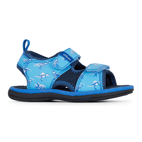 Fred Sandals in Blue Navy from Clarks
