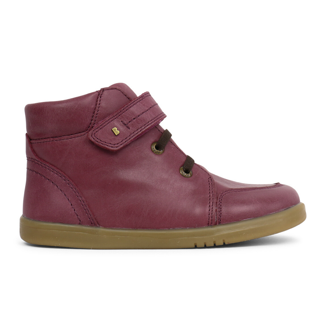 Timber Boots Kid+ in Plum from Bobux
