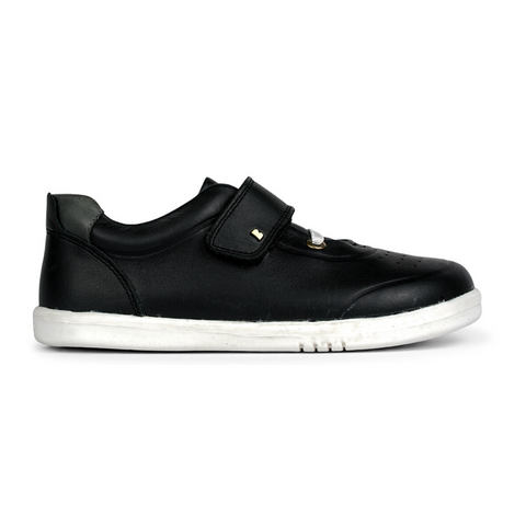 Ryder Trainers in Black Charcoal from Bobux Kid+ Collection