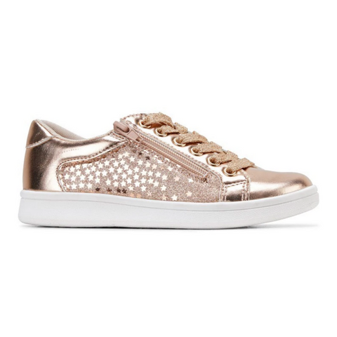 Dot Sneaker in Rose Gold by Clarks