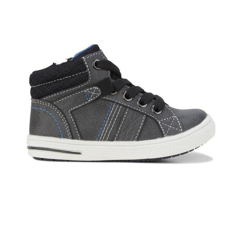 Brodie Clarks Grey Kids Shoes