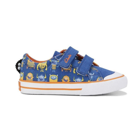 Buzz Blue Clarks Kids Shoes