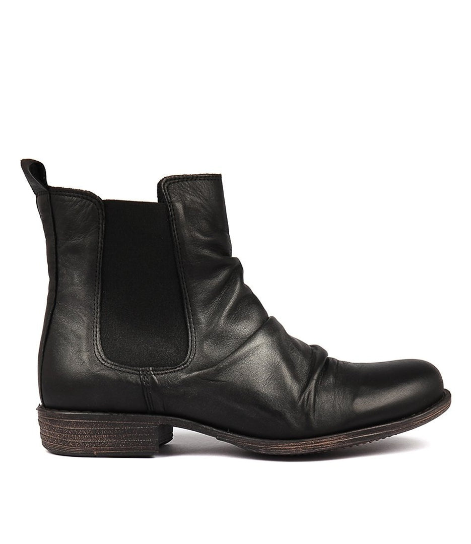 Willo Womens Boots in Black Metallic from Eos