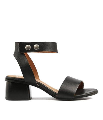 Port Black Sandals by Eos
