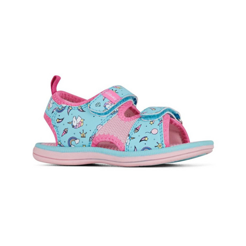 Frida Sandals in Turquoise Pink from Clarks