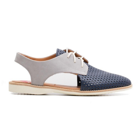 Slingback Punch Navy Grey by Rollie Nation