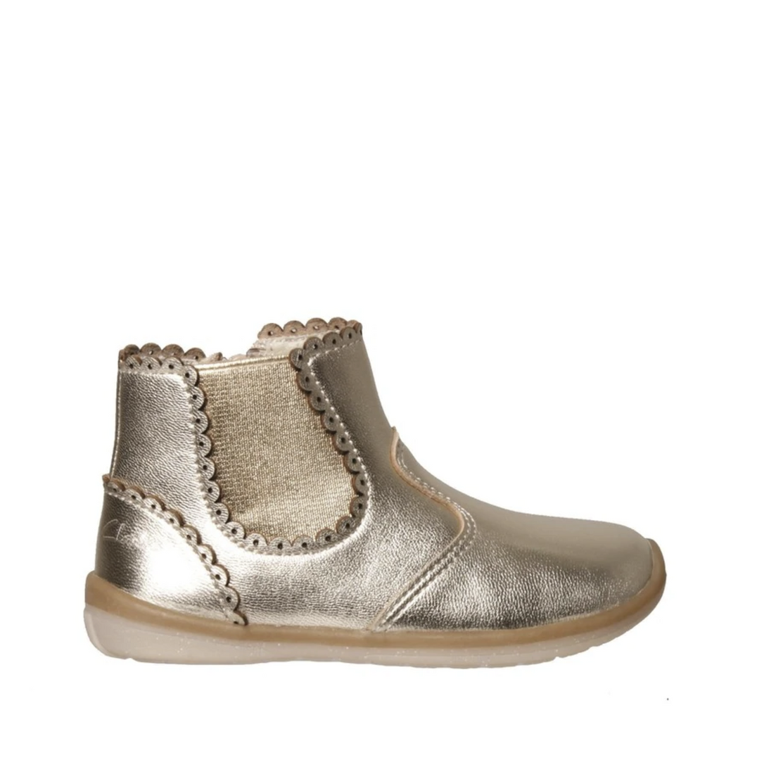 Maggie Gold Kids Shoes from Clarks