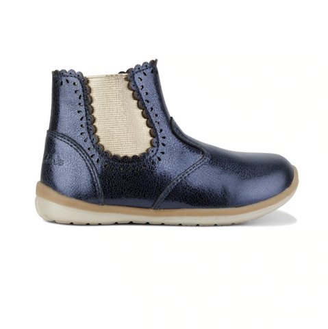 Clarks Maggie Shoes in Navy Metallic