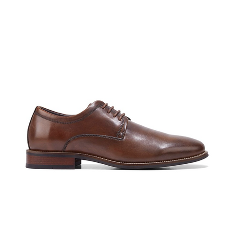 HUSH PUPPIES. WAKE - COFFEE BROWN MENS SHOES