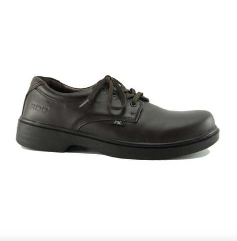 Stand School Shoes in Brown from Roc