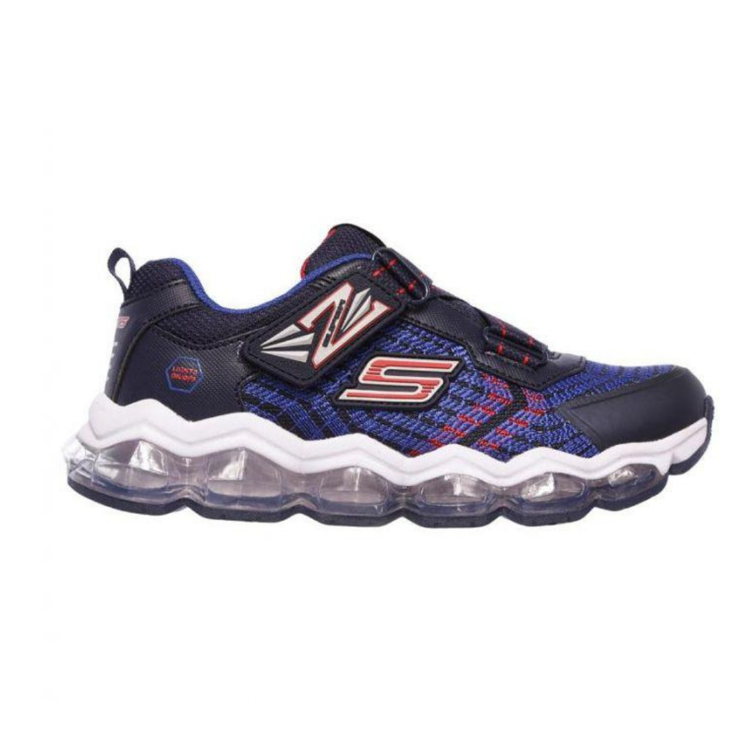 SKECHERS. 90596L - BLUE/RED KIDS SHOES