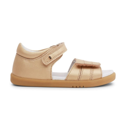 Hampton Sandal in Gold from Bobux i-Walk Collection.