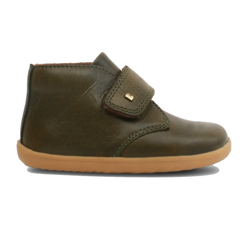 BOBUX. DESERT STEP UP - OLIVE KIDS SHOES