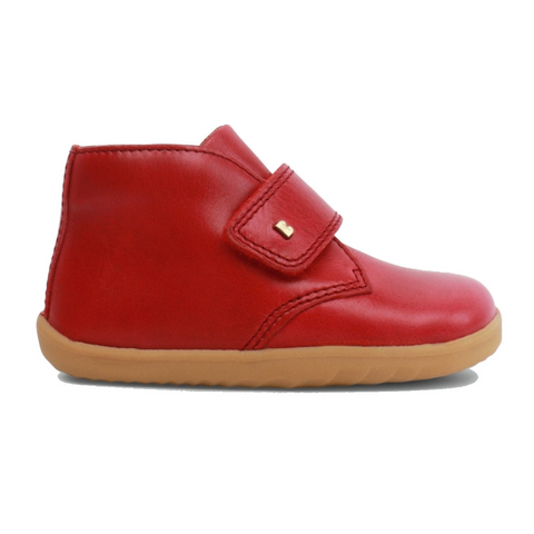 Rio Red Step-Up Desert Boots from Bobux