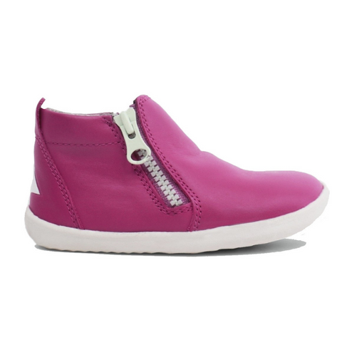 BOBUX. TASMAN STEP UP - MAGENTA KIDS SHOES