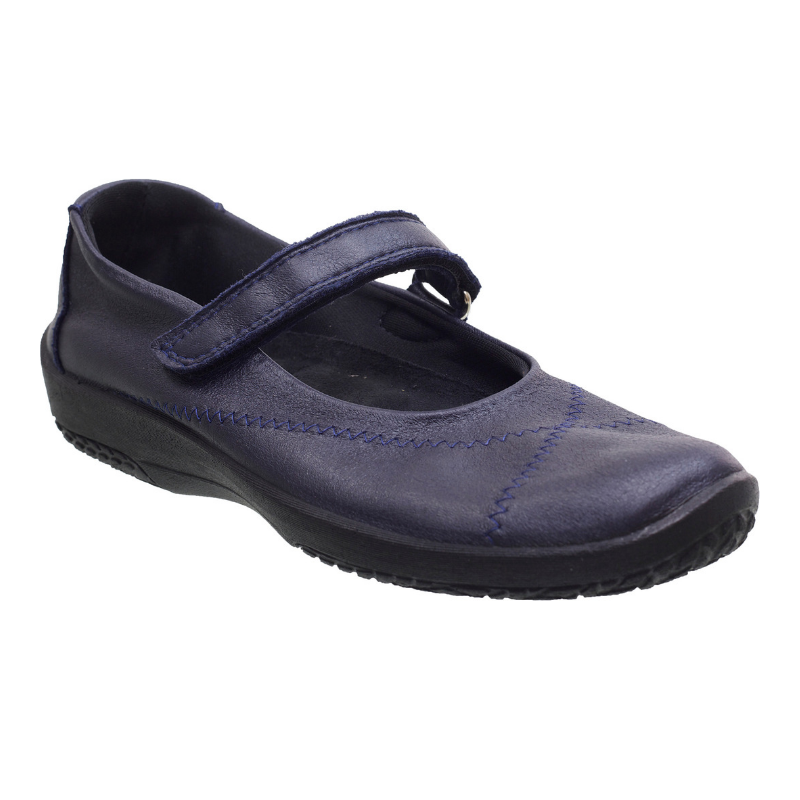 ARCOPEDICO. L18 - NAVY WOMENS SHOES