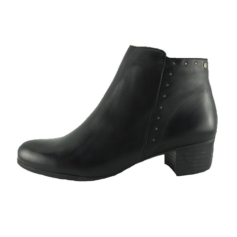 Zeta. Gaspara Heeled Ankle Boots